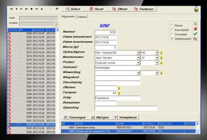 SampleBase voor de registratie van monsters en verwerking tot analyses en facturen.