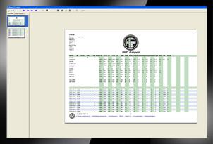 Generatie controlerapporten en productinformatie bladen